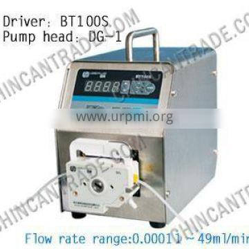 BT100S Industrial Speed Variable Peristaltic Pump with LCD Display and Touched Screen
