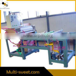 New Stype Full Automatic Beeswax Foundation Leather Embossing Machine