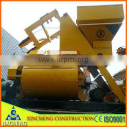 JS1500 concrete mixer with loading hooper