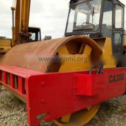 Strong thickness smooth drum used dynapac ca30 vibratory road roller for sale