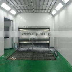 CE approved QX3000 water screen furniture paint booth/infrared paint dryer