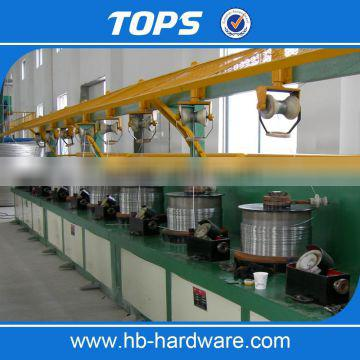 fully-automatic high speed low noise steel wire drawing machine