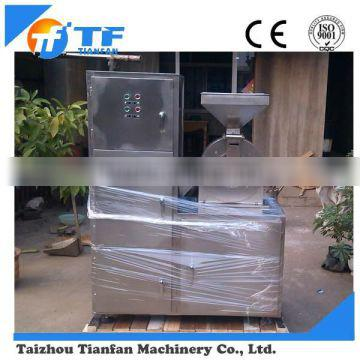 pepper pulverizer with pulse dust collector machine for CE