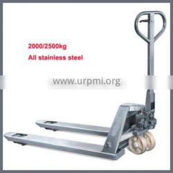 Brand New Stainless Steel Hydraulic Pump Manual Pallet Truck 2000kg Hand Operated Forklift