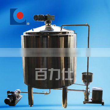 CE approved homogenizer and pasteurizer for milk
