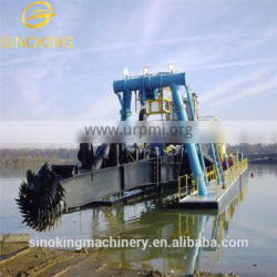 Hot sale cutter suction dredger-Water Flow Rate 3000m3/h