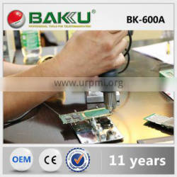 Brushless Fan and Low Noise Hot Air Rework Stationn with one Hot Air Gun (BK-600A soldering station)