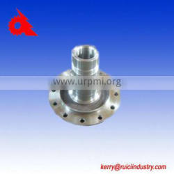 textile machinery shaft with flange