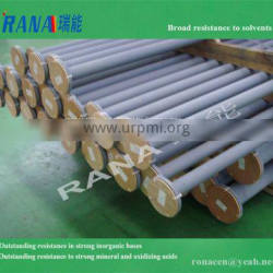 Strong acid resistance Durable Fluoroplastic PTFE lined pipes PFA fittings