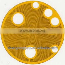 Flexible Polyimide Heater with 3M Adhesive Heating Film