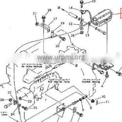 600-815-6650 600-815-6651 engine stop motor assy for WA150-1