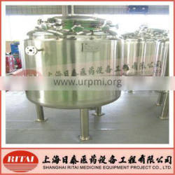 Injection solution stainless steel tank