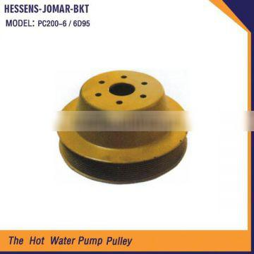 Christmas pulley types water pump pulley for sale PC200-6 6D95