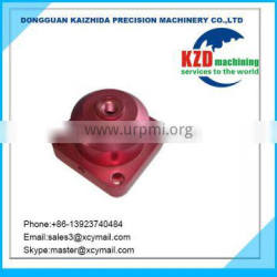 CNC Machining Parts With Red,Black Anodize