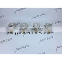 4HF1 Piston Assy With Piston Pin For Excavator Diesel Engine Spare Parts