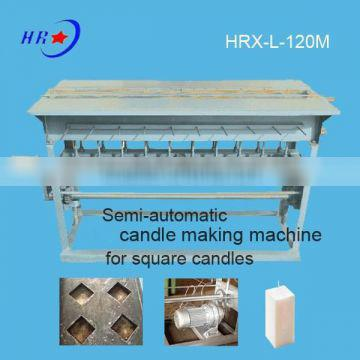 HRX-L-120M square candle molding machine with motor raise candles up