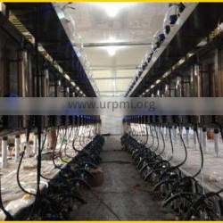 Automatic paralleling milking equipment