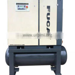 7.5kw 10hp industrial use 500L tank double screw air compressor