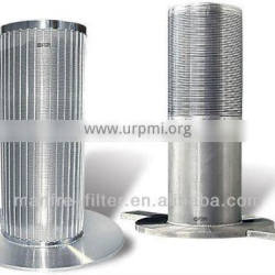 304 and 316 stainless steel Wedge wire cylinder filter element