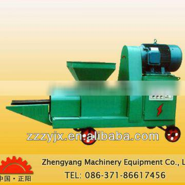 Corn straw briquette machine for charcoal making