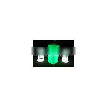 Cleanable IP65 Led Bar Furniture lighted bar table stool eco friendly