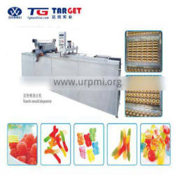 Factory price Jellyand gummy candy starch moulding line