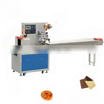 Horizontal snacks packing wrapping bread machine pillow packaging machine for food
