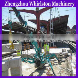 2014 romotion electric small crawler spider crane from crane hometown