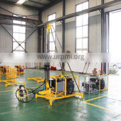 Portable man geological coring drilling rig for mountain rock drilling