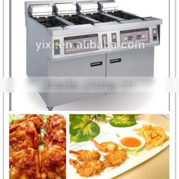 stainless steel kitchen equipment commercial deep fryers