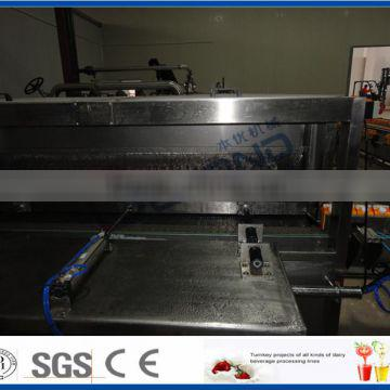 PET bottle pasteurizing and cooling tunnel