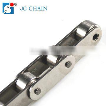 Single strand roller chain supplier c2082hss double pitch stainless steel conveyor chain