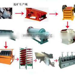 Beneficiation Production Line With Jaw Crusher Ball Mill