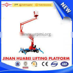 China advanced technology 10m/160kg work load Articulated Boom Lift