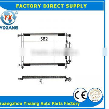 Air conditioner ac condenser coil cooling auto spare parts FOR DAEWOO