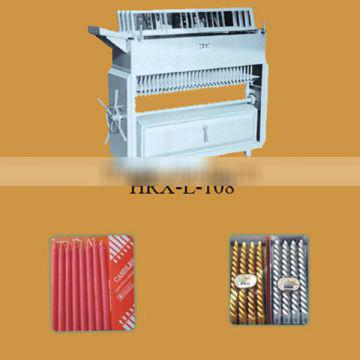 Manual type of Candle making Machine for Normal candle or sprial candles HRX-L-108