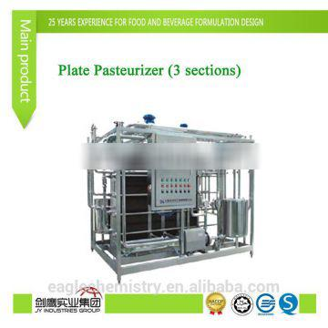 Plate Pasteurizer (3 sections)