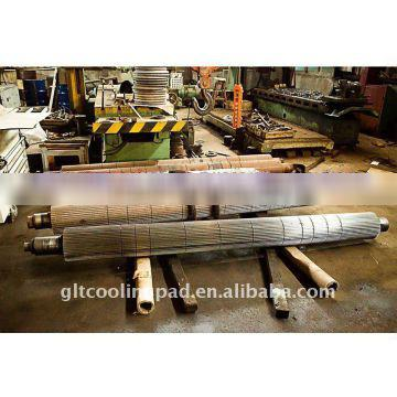 corrugated roller of evaporative cooling pad