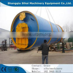 Sihai waste paper pulp to oil refining plant