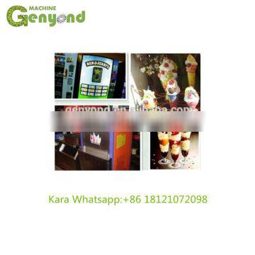 Soft Rainbow Italian Commercial Hard Fry Big Capacity Mobile Stick Portable commercial ice cream machine for sale,