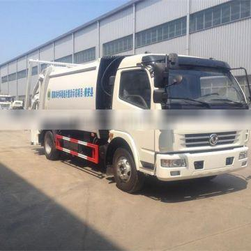 right hand drive 120hp garbage truck dongfeng