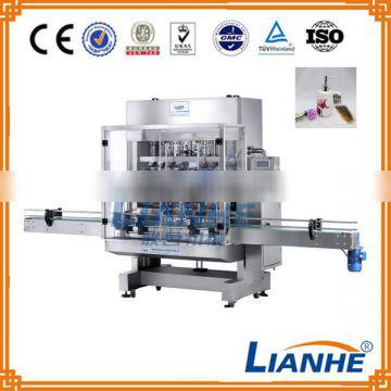 6 Filling Head Cosmetic Product Lotion Cream Shampoo Bottle Filling Machine