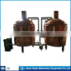 Brewery plants, Red copper bars brewing,Beer brewery/Equipment /device/Plant /line/warehouse