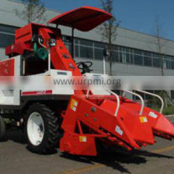 2 harvesting lines made in China corn harvester