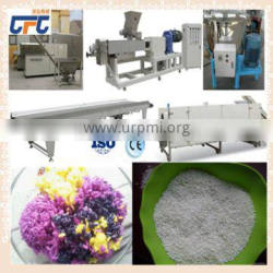 Nutritional long and thin artificial rice production line with highly quality