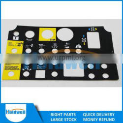 HOLDWELL High Quality Control Panel Decal/Overlay 72081 72081GT
