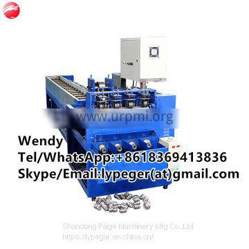 0.7mm stainless steel scourer scrubber making machine with drawing wire