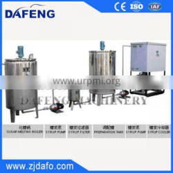 RT Serie Small scale sugar processing equipment