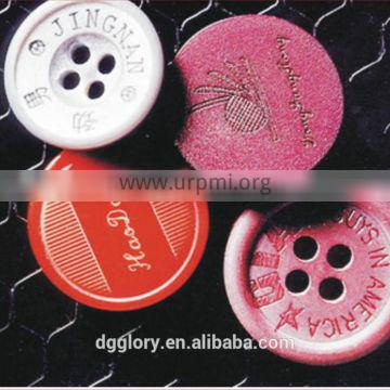 GLORYSTAR Resin Buttons Laser Marking Machine with CE, SGS,ISO