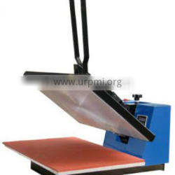 Flat heat transfer press for sublimation printing